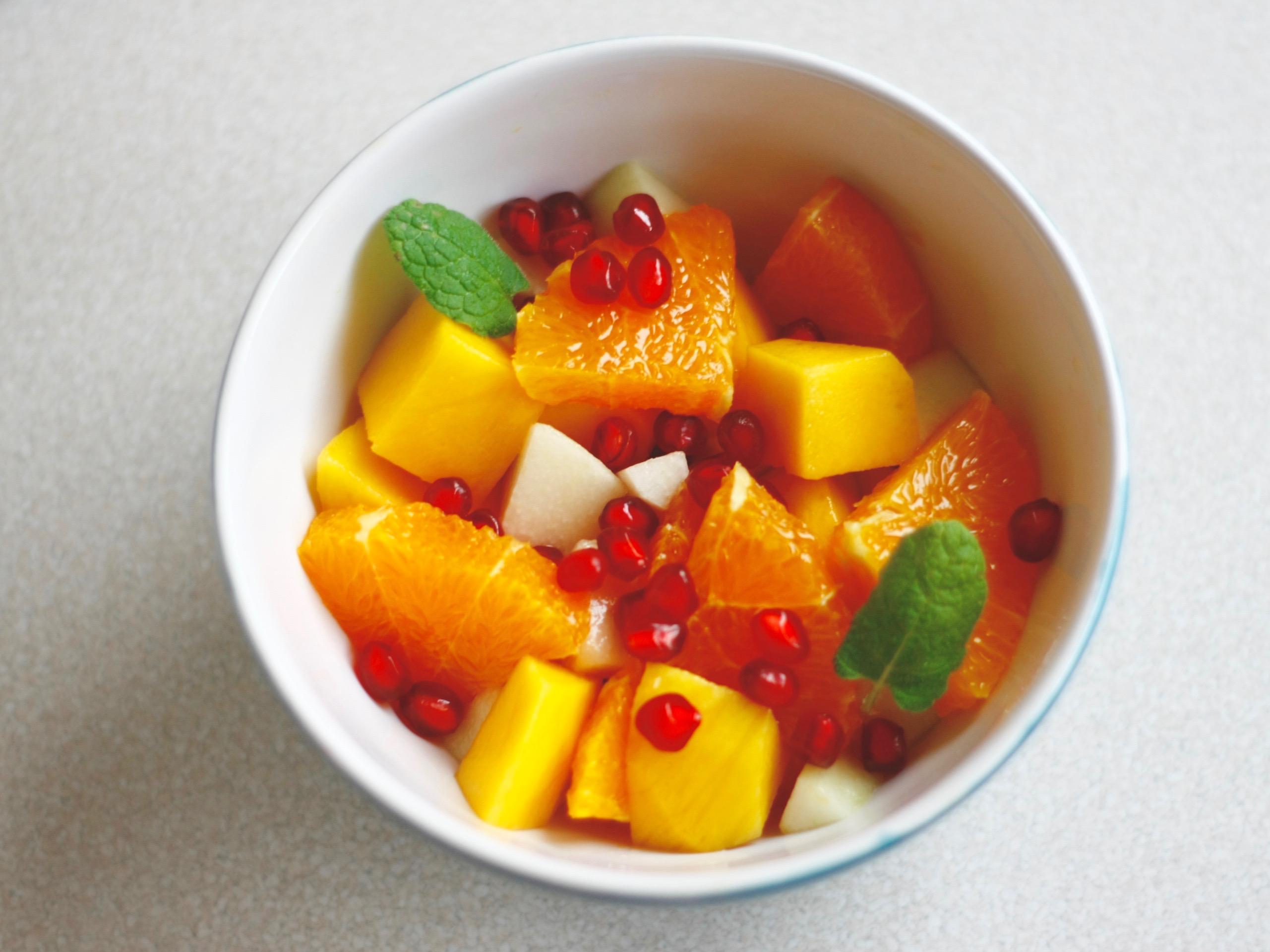 PODWIECZOREK - sałatka owocowa z mango