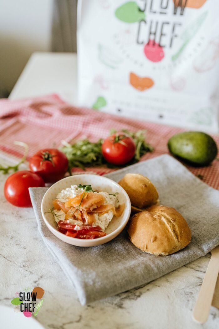 slow chef szczecin, pstrąg zielenicy, catering dietetyczny