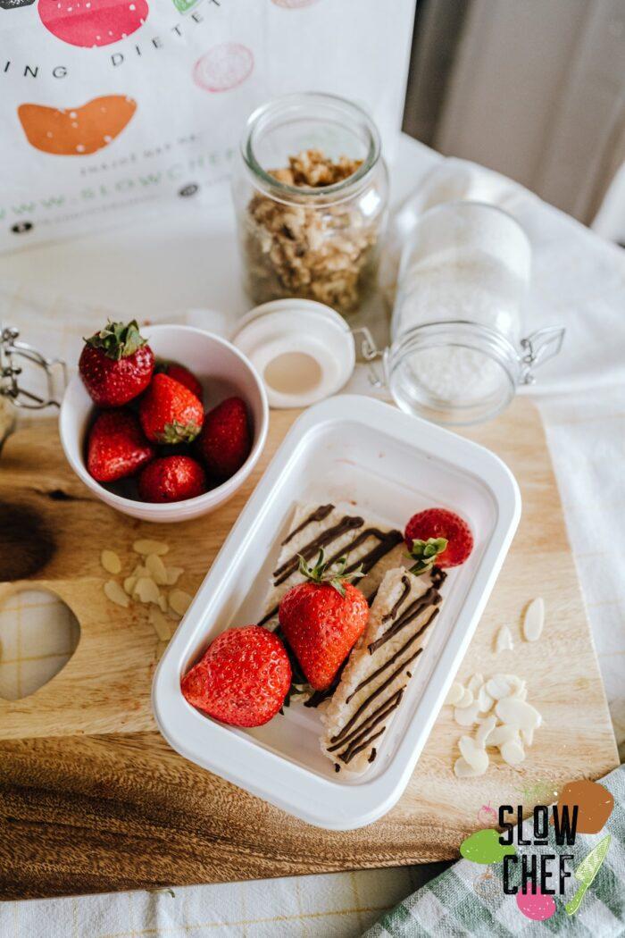 truskawki w diecie, slow chef szczecin, catering dietetyczny