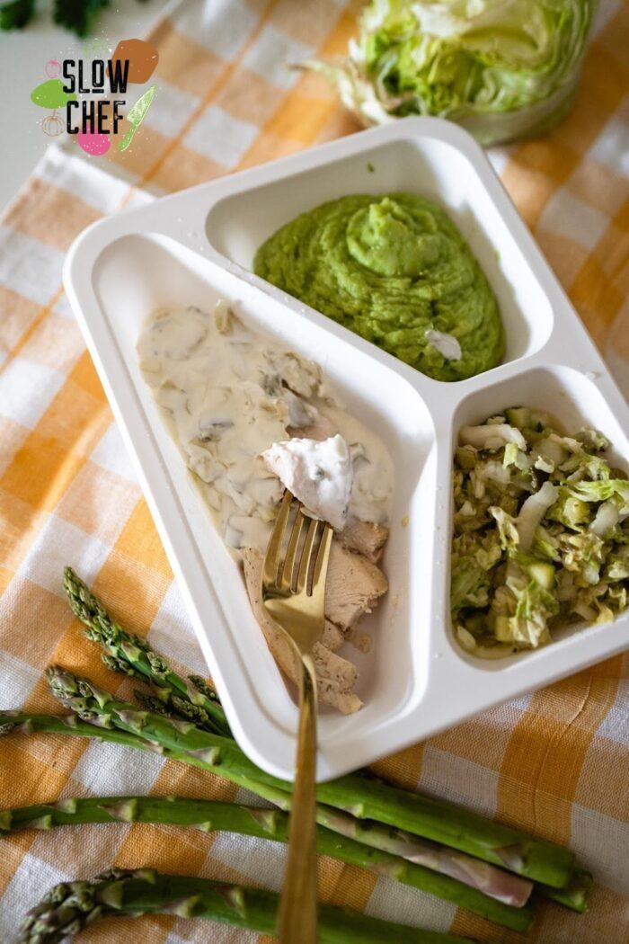 podgrzewanie diety pudełkowej, slow chef szczecin, catering dietetyczny